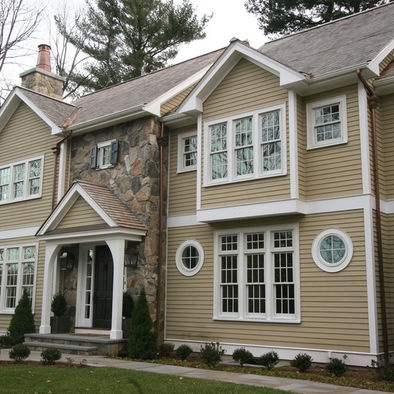 Beige House Exterior Design Pictures Remodel Decor And Ideas Page 2 Exterior Sheds And