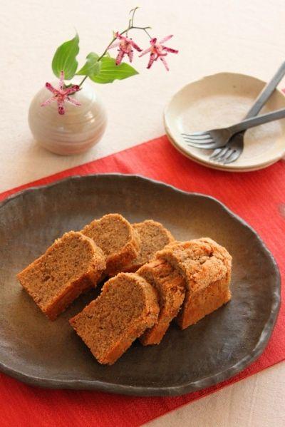 「てんさい糖ときなこの米粉パウンド」かめ代   お菓子・パンのレシピや作り方【cotta*コッタ】