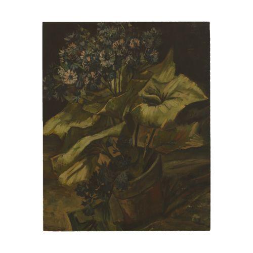 Cineraria by Vincent Van Gogh Wood Panel #Prints . #vangogh #art #painting - 114 Best Images About Van Gogh Wood Panel Prints On Pinterest