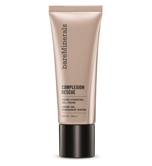 bareMinerals Complexion Rescue Tinted Hydrating Gel Cream - Boots Think I'd like to try this after I finish my Becca liquid highlighter, or when I give up on it hahaha. The coverage looks pretty low and it has a pretty finish.