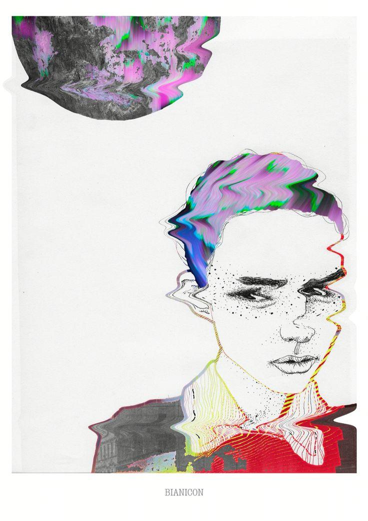 #graphicdesign #bianicon #art #dotwork #digital #woman #handmade