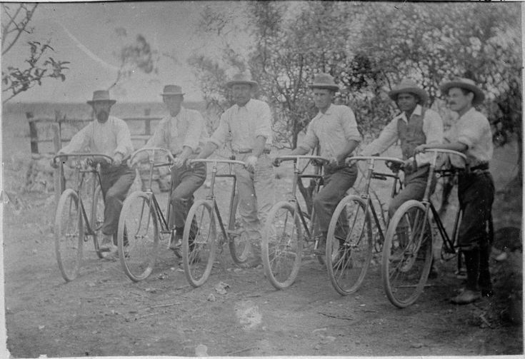 066409PD: Six men on bicycles, Balladonia, 1897 http://encore.slwa.wa.gov.au/iii/encore/record/C__Rb3805047?lang=eng