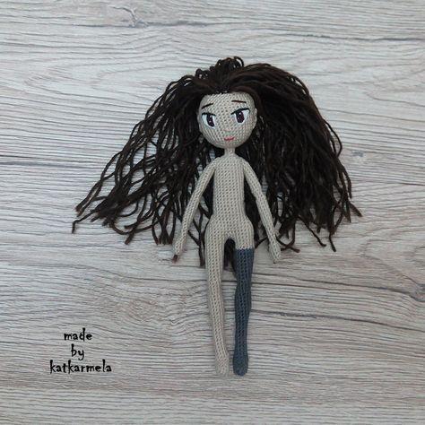 кукла амигуруми крючком схемы и описание бесплатно