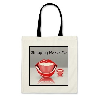 Big Mouth Humor Budget Funny Shopping Tote Bags by sunnymars    This humorous, affordable cool budget tote bag features a funny, cute cartoon vector of a laughing happy big open wide grinning mouth with a nice smile, nice red lips and perfect white teeth. Customize it by adding your name and details. Perfect for dentists or promotional products for a dental practice. Customize and personalize it by adding your name and details. Perfect for dentists or promotional products for a dental…