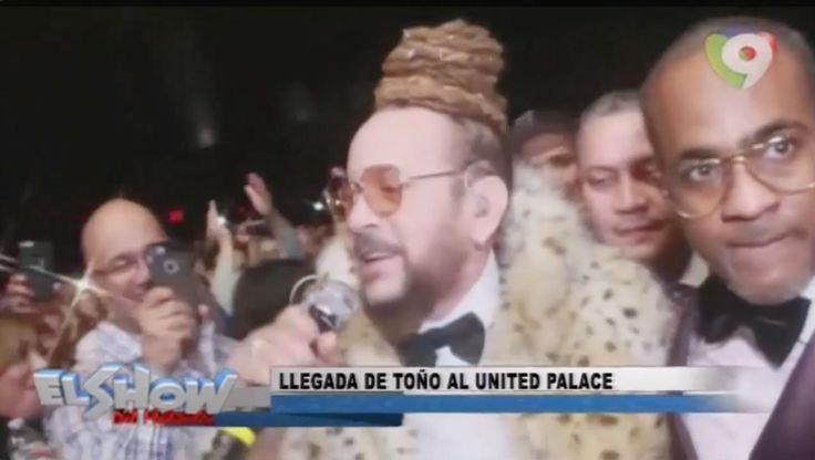 Aridio Comenta Sobre La Llegada De Toño Rosario Al United Palace De New York En El Show Del Mediodía