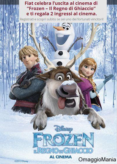 Biglietti cinema gratis per Frozen (nuova possibilità) - 1000 biglietti disponibili - http://www.omaggiomania.com/senza-categoria/biglietti-cinema-gratis-per-frozen-nuova-possibilita-1000-biglietti-disponibili/