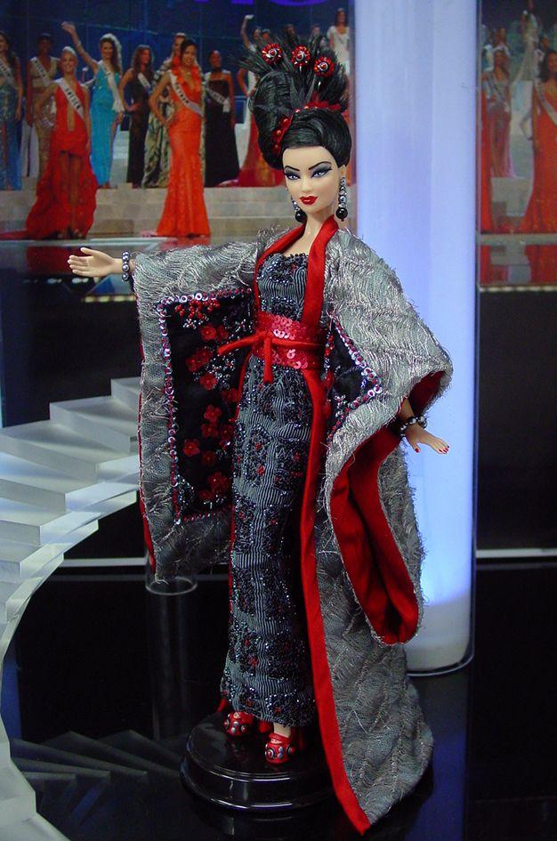Miss Okinawa Barbie Doll 2013