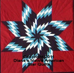 Whirlwind Native American Lone Star Quilt Pattern | eBay