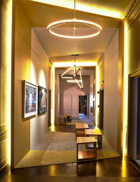 SPAN Architecture Hallway