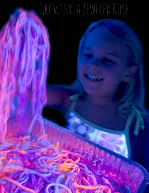 Make your own glow in the dark RAINBOW pasta for fabulous sensory play.  So FUN!