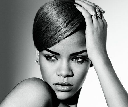 Rihanna Black and White - model, hottie, gorgeous, singer, pretty, sexy, rihanna
