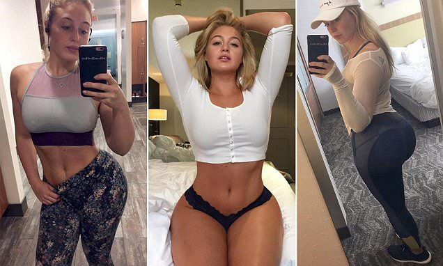 Curvy model Iskra Lawrence shows off her 'fave' workout in new video
