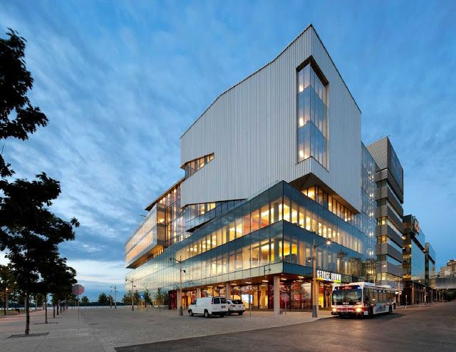 www.canadaes.com GEORGE BROWN COLLEGE WATERFRONT CAMPUS BY STANTEC / KPMB
