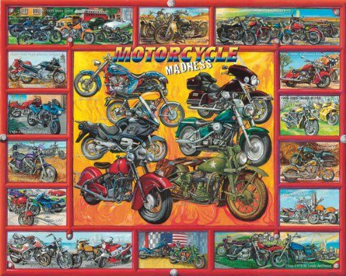 Harley Davidson Puzzles - Motorcycle Madness http://jigsawpuzzlesforadults.com/harley-davidson-puzzles/