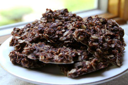 No Bake Chocolate Coconut Oatmeal Cookies