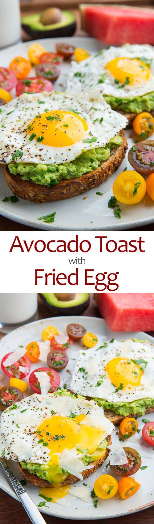 Avocado Breakfast Pizza With Fried Egg Recipe — Dishmaps