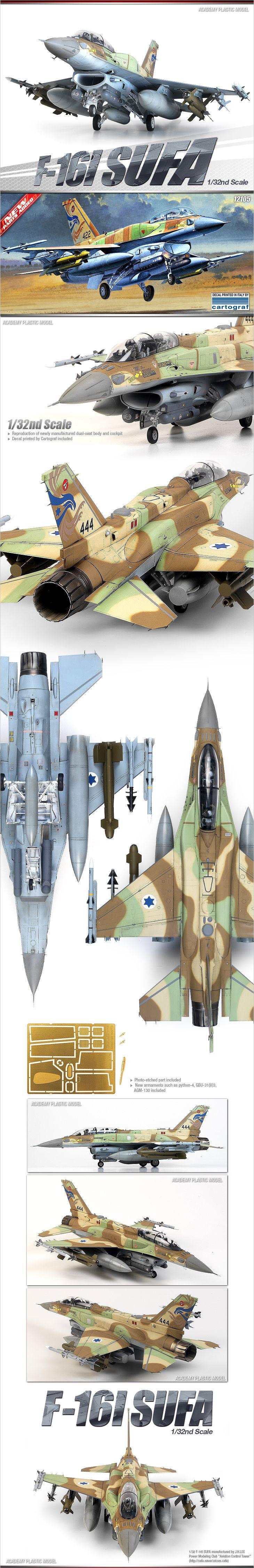 F-16 I Sufa Academy Model Scale 1:32