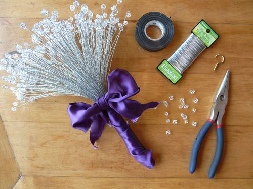 How to Make a Sparkling Crystal Bouquet on http://www.weddingbells.ca/blogs/diy-wedding-ideas/2011/08/08/how-to-make-a-sparkling-crystal-bouquet/