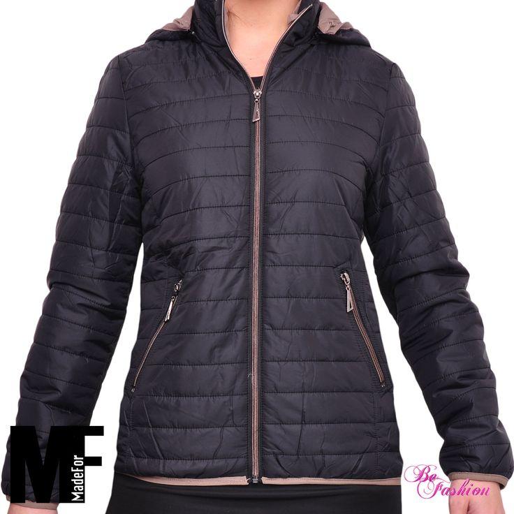 PIUMINO donna giubbotto giubbino giacca leggero imbottito TAGLIE COMODE 14-157 | eBay