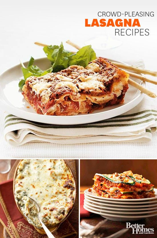 Warm up your home with one of these amazingly delicious lasagna recipes.