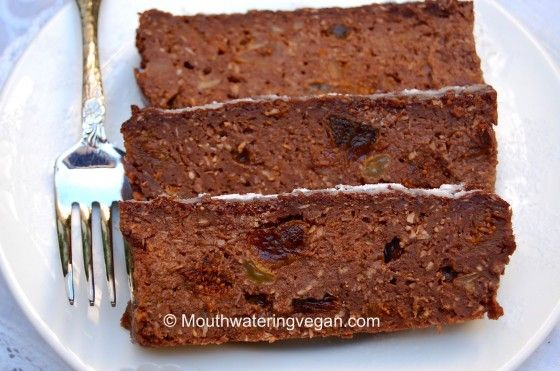 Mouthwatering Chocolate Bread & Fruit Pudding (Thanksgiving Pudding) by Mouthwatering Vegan