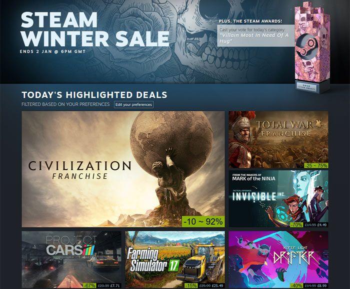 Steam wintry weather Sale and Microsoft Countdown online game deals begin - HEXUS #news #tech #world