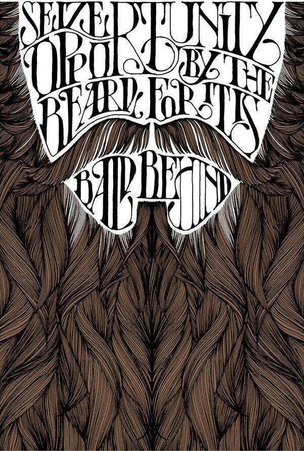 .Hair Tutorials, Pen And Ink, Daren Newman, Seize Opportunity, Beards Mustaches, Art Design, Graphics Design, Typography, Favorite Pinz