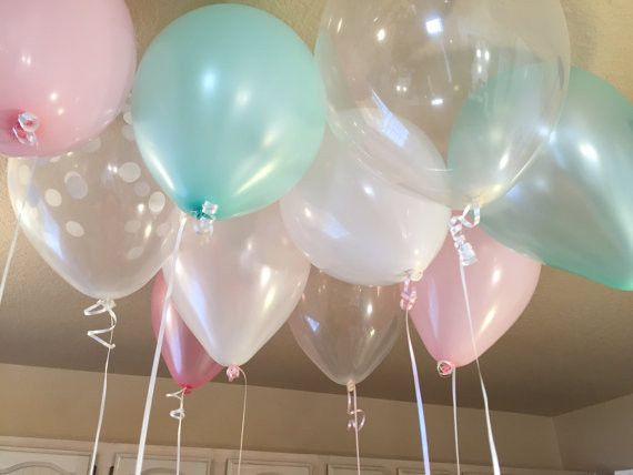 25 Piece Baby & Co. Girl Themed Balloon Ceiling Kit