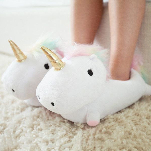 OMGGGGG  Unicorn Light Up Slippers Pre-order