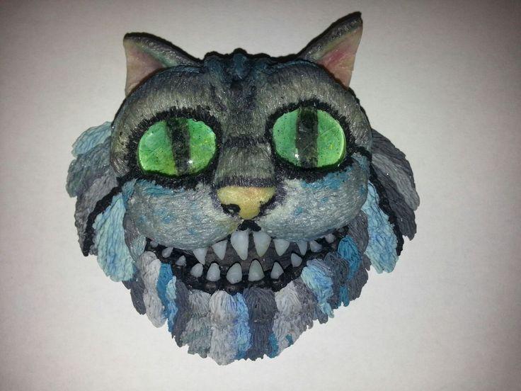 Cheshire cat fimo