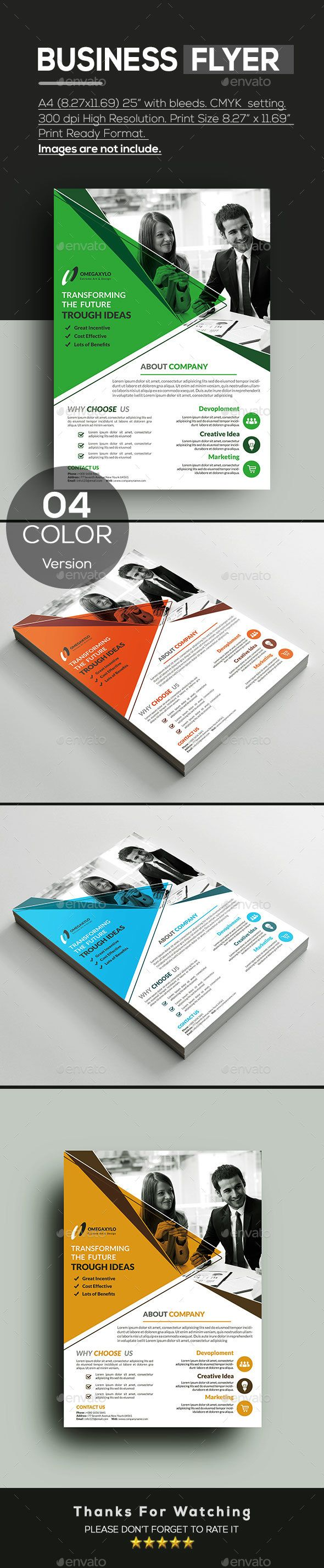 Business #Flyer - Corporate Flyers