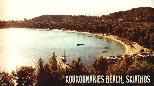 Skiathos Posters by Nick Karvounis, via Behance