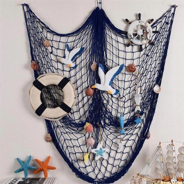 Pin Von Ursula Beier Auf Karneval Fischernetz Deko Ideen Fur Basteln Nautische Einrichtung