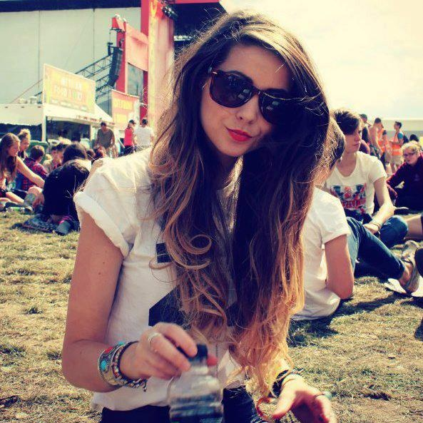 The one and only Zoe. ( aka: Zoella) I love love love her ombred hair and i think it really suits her