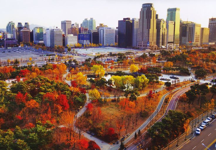 Autumn in Seoul, Korea