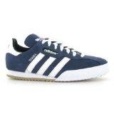 Adidas Samba Super Suede Navy White Mens Trainers Size 10 UK