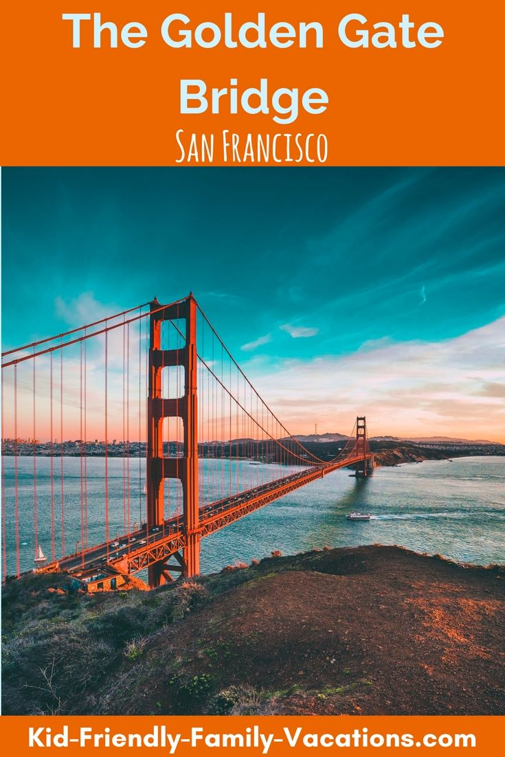 The Golden Gate Bridge is one of the first things you think of when you thing of San Francisco and is a must see while there.