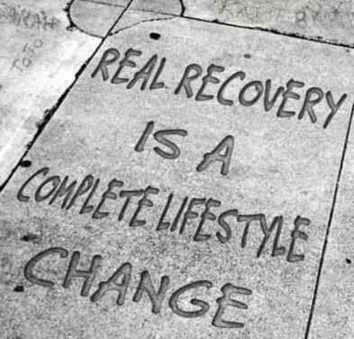 Recovery (this goes for weight loss & exercise too)!!