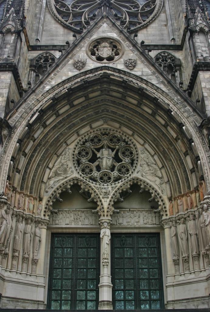 The Cathedral Church of St. John the Divine, New York. Photo by Brenda Gartin.  BrendaGartin.com