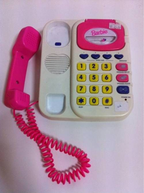 Barbie Toy Phone : Best images about s barbie girl on pinterest