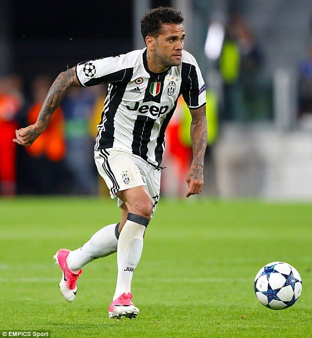 City will be keen on a deal after they look set to be snubbed by ex-Juventus player Dani Alves