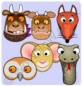 The Gruffalo Mask Set | WoWHoW