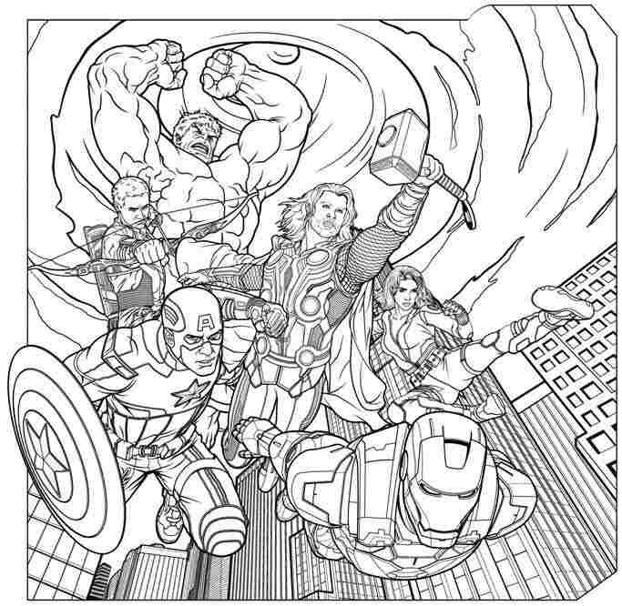 Mighty Avengers Coloring Pages : Avengers flying coloring pages printable sam pinterest