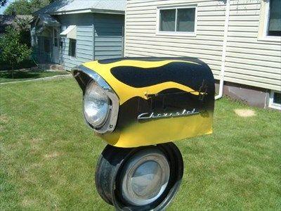 Chevrolet Mailbox - Wray, Colorado - Car Part Sculptures on Waymarking.com