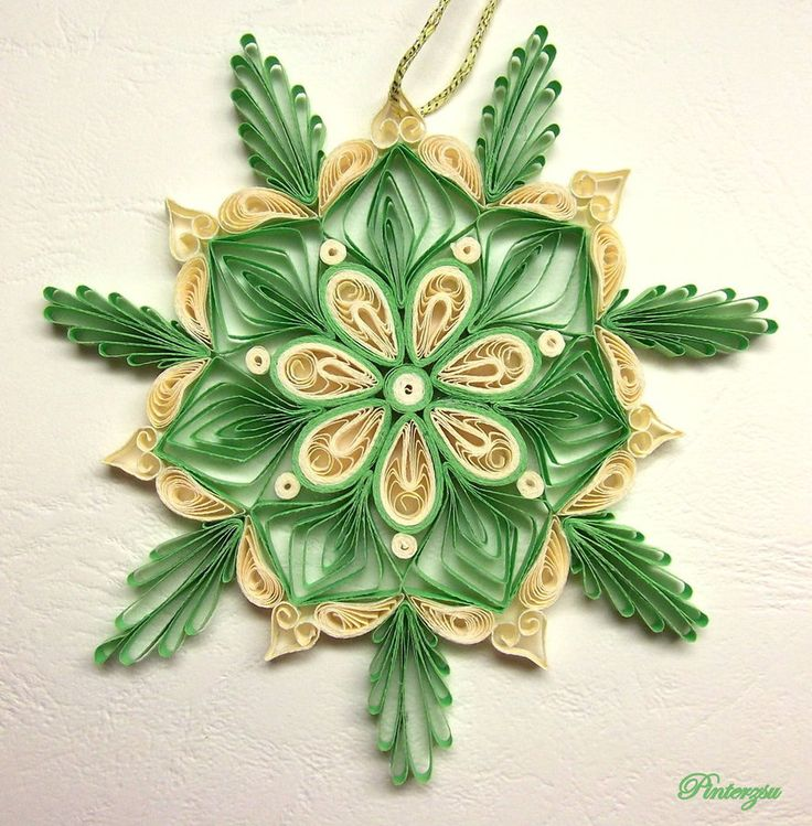576 best christmas quilling images on pinterest paper for Decoration quilling
