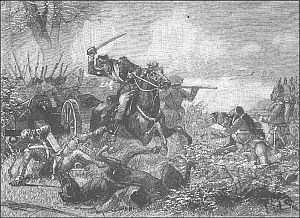 The Battle of Saratoga. (The turning point of the war.) The British had General Burgoyne. The Americans had General Gates. Since Burgoyne's plan failed and that he took too long tiger to Albany, the Americans had won.