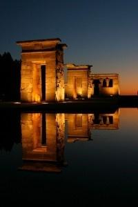 the Temple of Debod in Madrid, Spain travel-freak-blog-posts