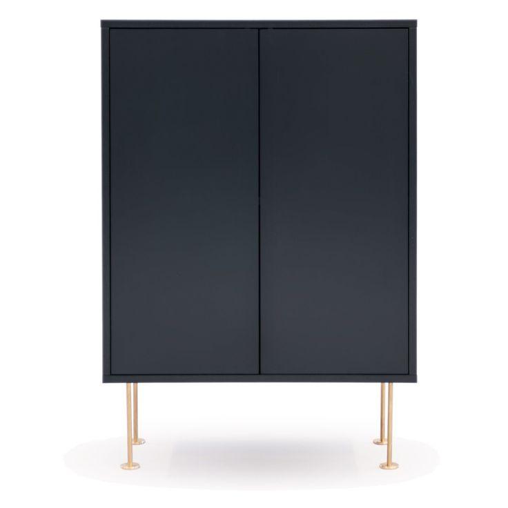 Vogue skåp 64, antracit svart – Decotique – Köp online på Rum21.se
