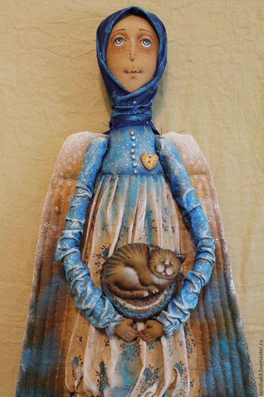 Коллекционные куклы ручной работы. Ярмарка Мастеров - ручная работа. Купить Ангел-хранитель домашнего очага. Handmade. Комбинированный