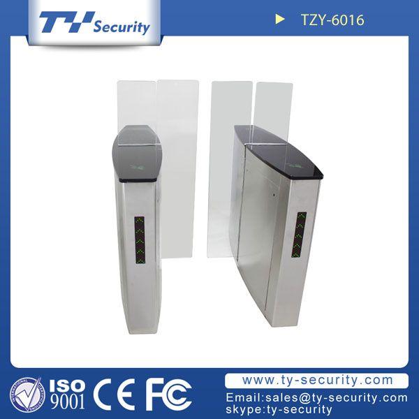 Bi-parting flap gate turnstiles TZY-6016